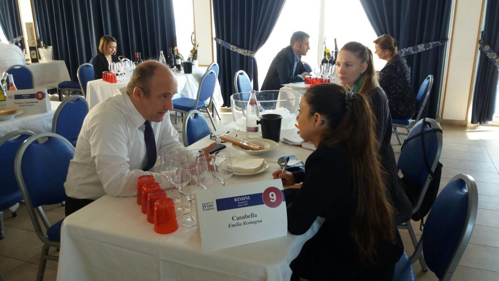 International Wine Traders Wine workshop Rimini 2017