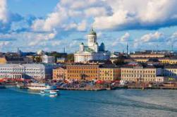Foto panoramica Helsinki