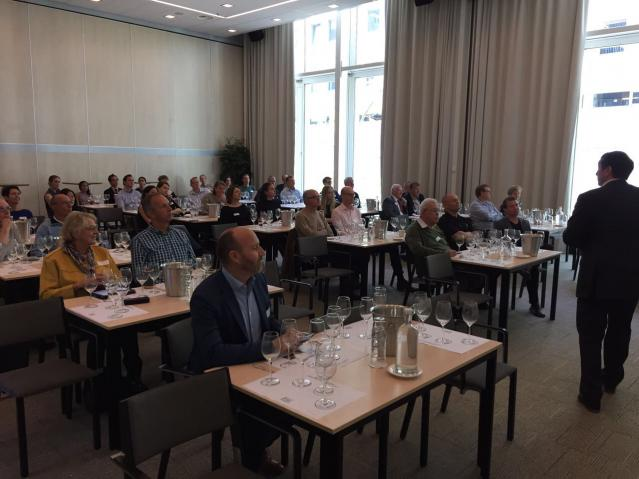 Wine masterclass by Fred Nijhuis.