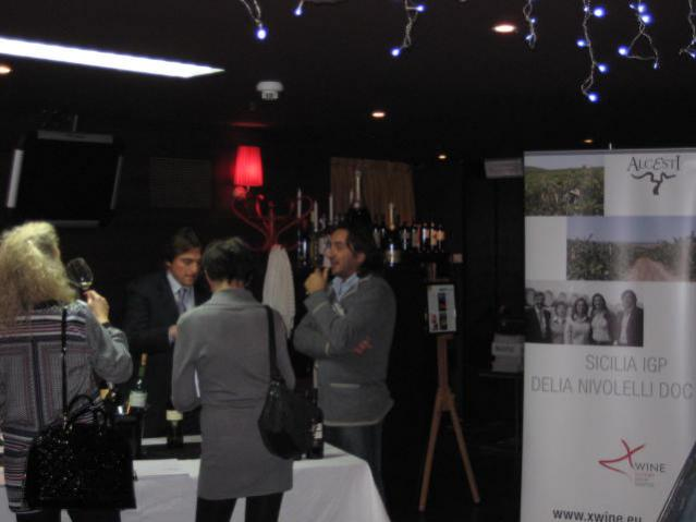 Wine Tasting with importers and professionals in Lugano