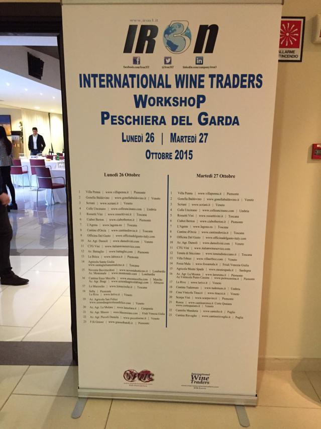 International Wine Traders, Peschiera del Garda 2015