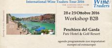 IWT Wine Workshop | Peschiera del Garda 28 e 29 Ottobre 2016