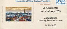 IWT wine workshop Copenaghen 2016