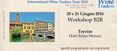 Workshop B2B con agende programmate International Wine Traders Treviso 2016