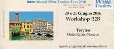 Wine Workshop IWT   Treviso 20 e 21 Giugno 2016