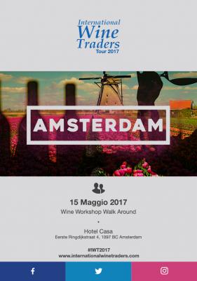 IWT Amsterdam | wine workshop Walk Around 15/Maggio