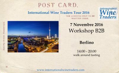 Wine Workshop IWT Berlino 7 Novembre 2016