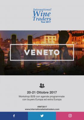 IWT Veneto | Wine workshop con agende programmate 20 e 21 ottobre 2017