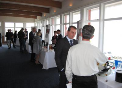 Wine Tasting with American buyers and professionals, carried out at the Golden Gate Yacht Club, from San Francisco.