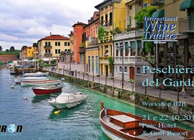 """International Wine Traders"" B2B workshop with foreign buyers - Peschiera del Garda, October 21st and 22nd"