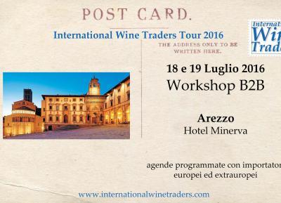 IWT Arezzo | Workshop B2B con agende programmate 18 e 19 Luglio 2016