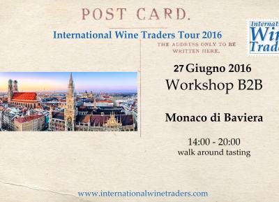 IWT Monaco Di Baviera 2016 | Wine Workshop Walk Around B2B