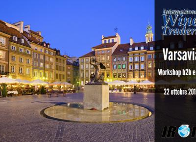 Workshop Walk Around International Wine Traders Varsavia 22 Ottobre 2015