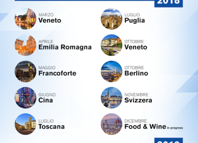 Nuovo tour di promozione del vino italiano all'estero targato Iron3