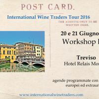 Workshop B2B con agende programmate International Wine Traders Treviso 2016